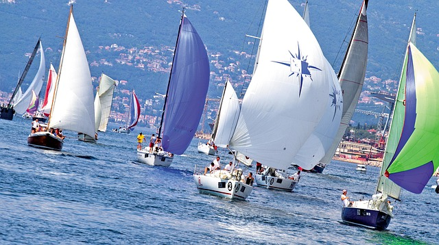 Yacht Fiumanka Sailboat Sailing Sea Race Regatta